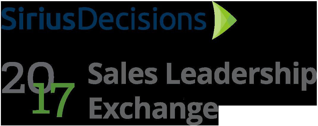 SiriusDecision Sales Leadership Exchange